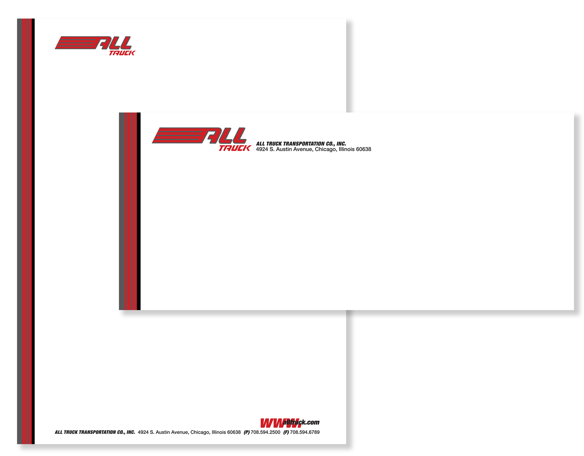 All Truck USA Corporate Identity System