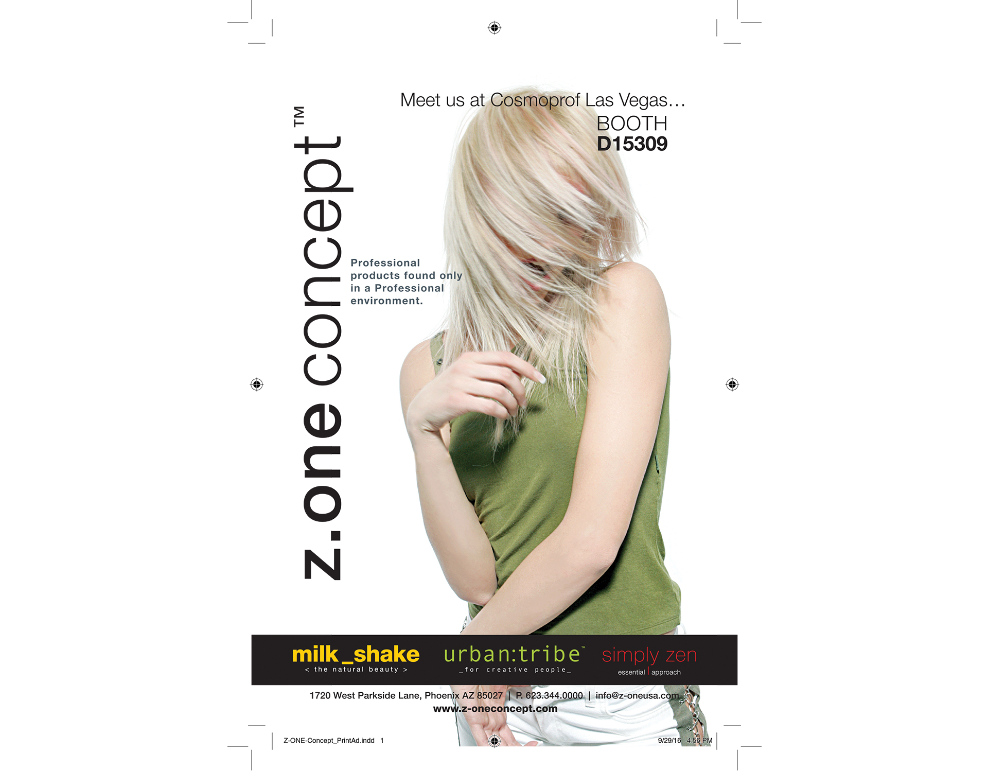 Z.One Concept USA, Advertising