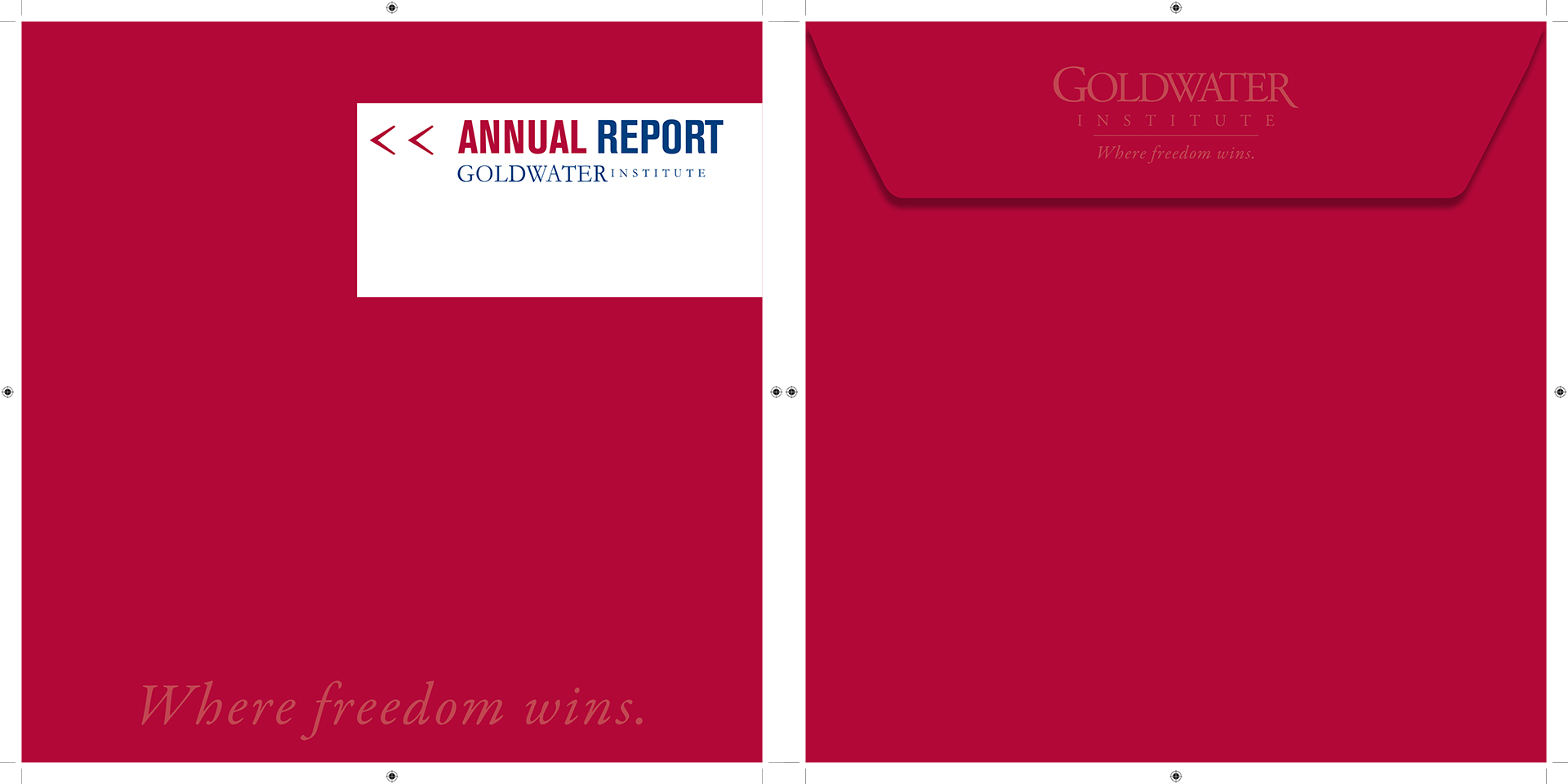 Goldwater Institute Custom Envelope Design