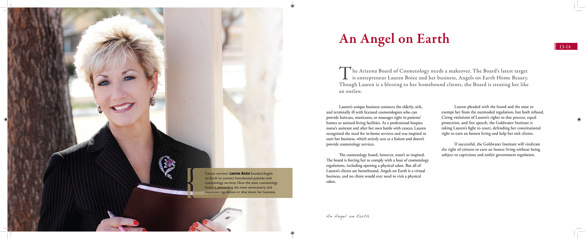 Goldwater Institute Annual Report 2011 - Interior Pages