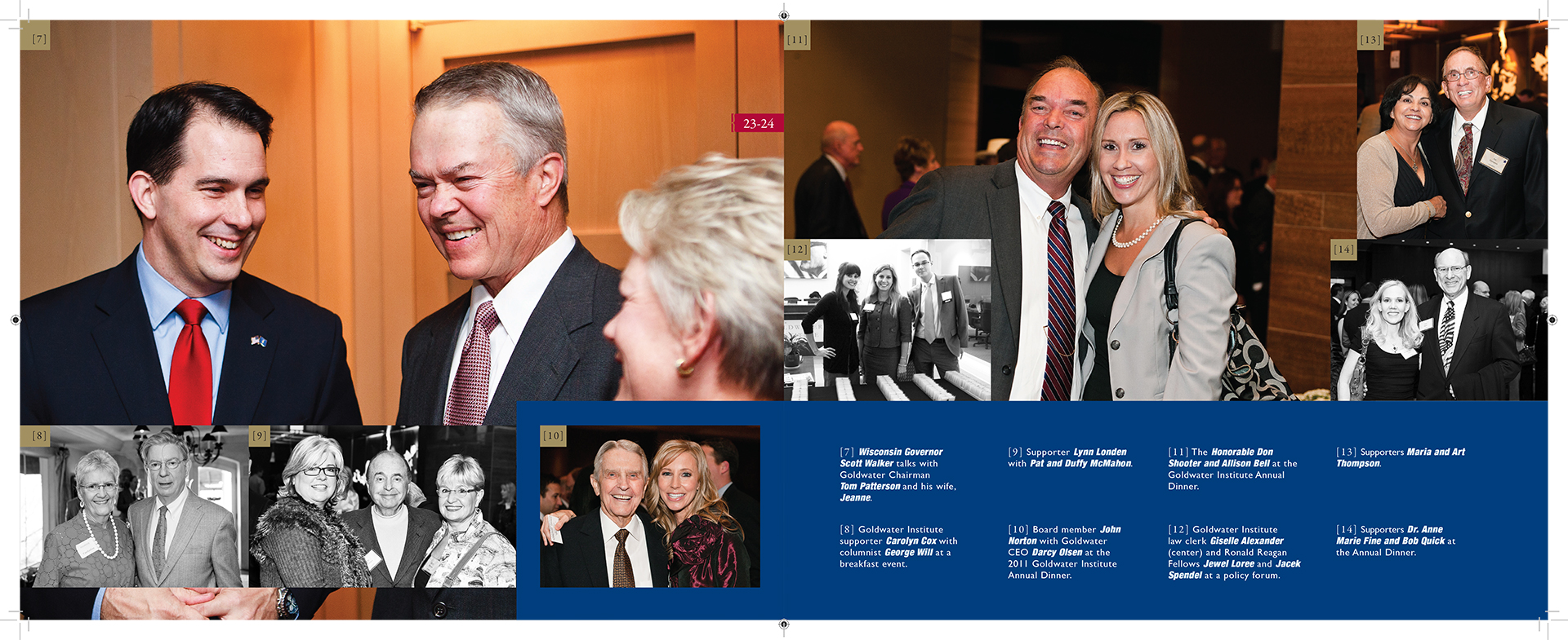 Goldwater Institute Annual Report Design