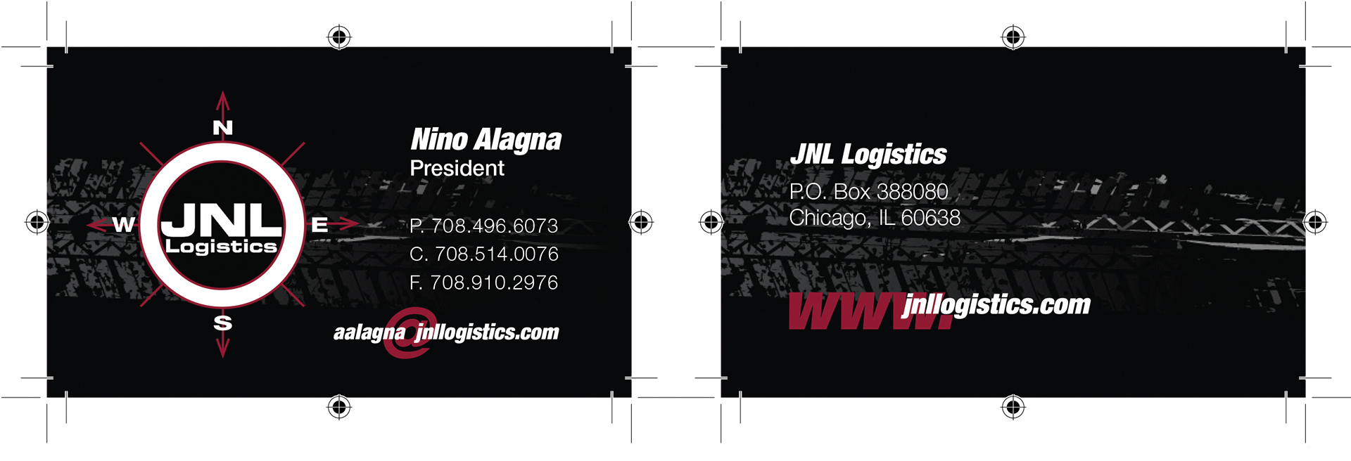 JNL Logistics Corporate Identity System