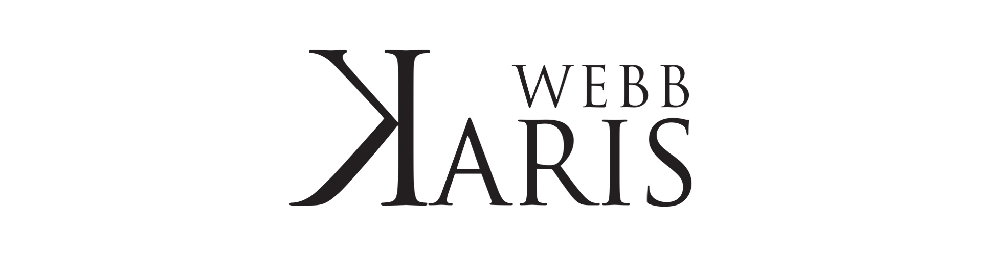 Karis Webb Logo Design