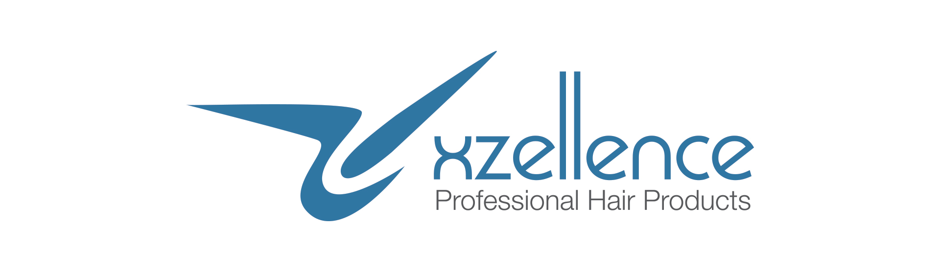 XZellent Professional Hair Products Logo Design