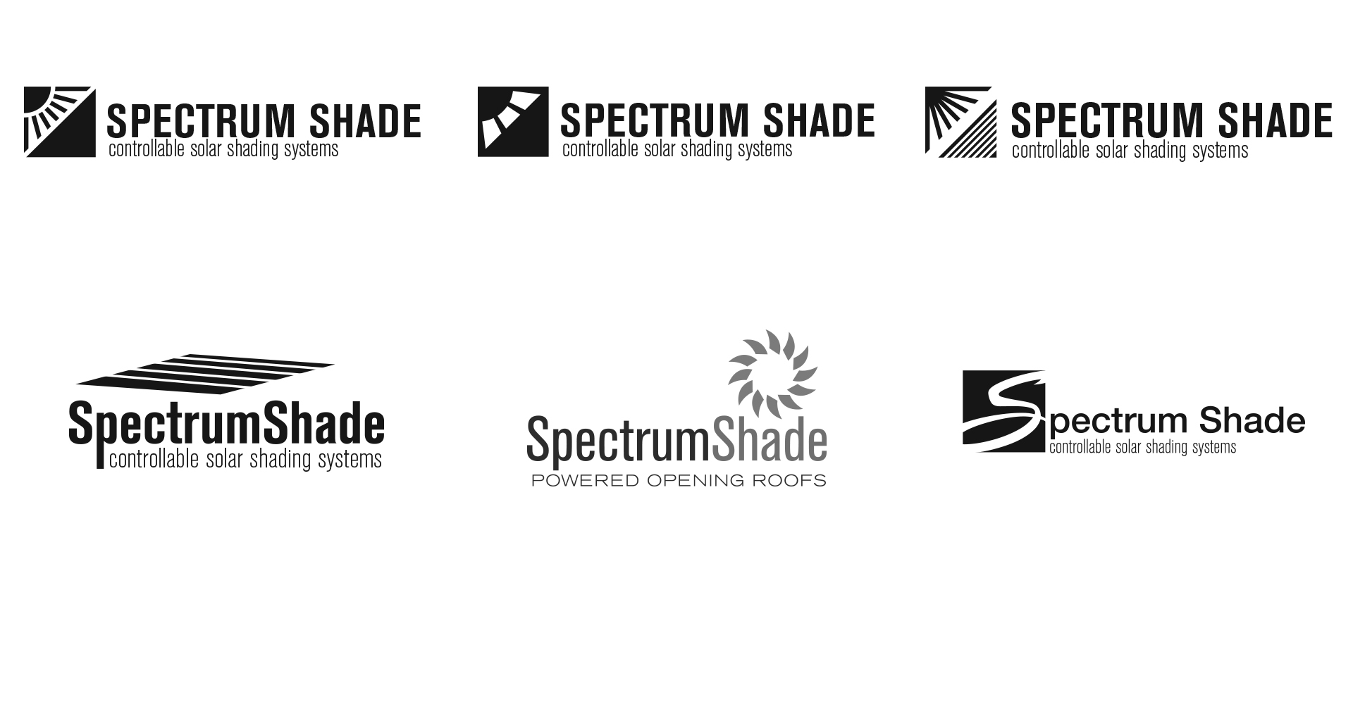 Spectrum Shade Logo Design